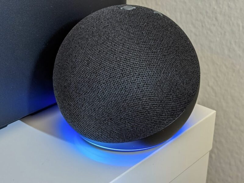 Amazon Echo Dot 4 Alexa Head